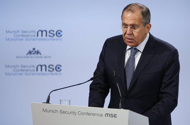 El ministro de Asuntos Exteriores ruso, Sergei Lavrov