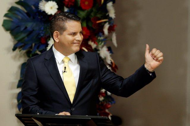 Fabricio Alvarado, candidato presidencial del Partido de Restauración Nacional