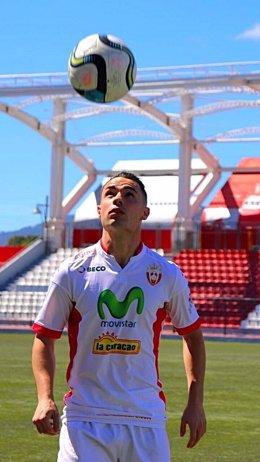 El jugador altoaragonés Pablo Gállego Lardiés.