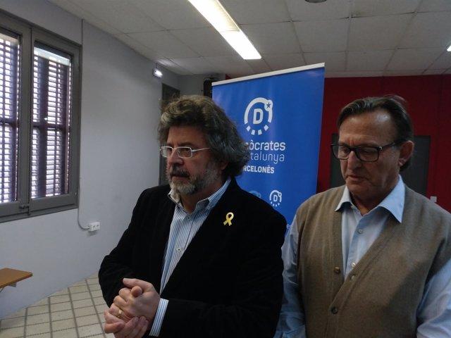 Antoni Castellà y Josep Maria Vila d'Abadal, Demòcrates