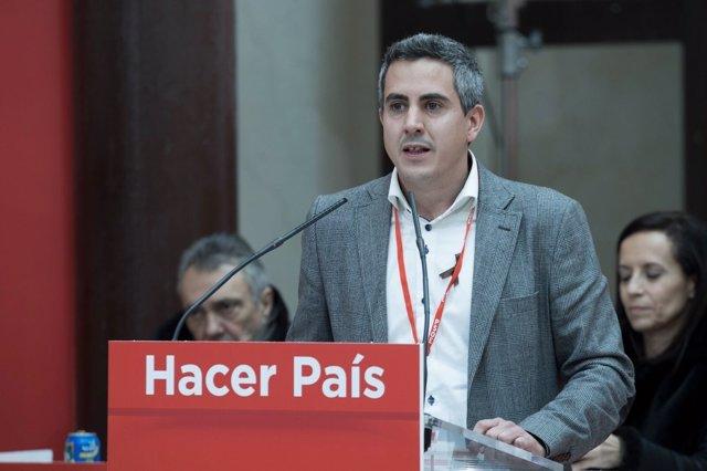 Pablo Zuloaga en el Comité Federal