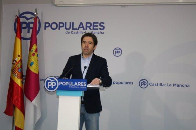 Pp Clm (Cortes De Voz Y Fotografía) Rueda De Prensa De Lorenzo Robisco