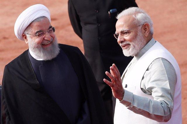 Rohani y Modi