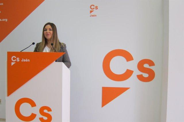 La portavoz provincial de Ciudadanos en Jaén, Raquel Morales.