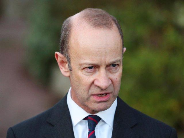 El Líder Del Partido Por La Independencia Del Reino Unido (UKIP), Henry Bolton