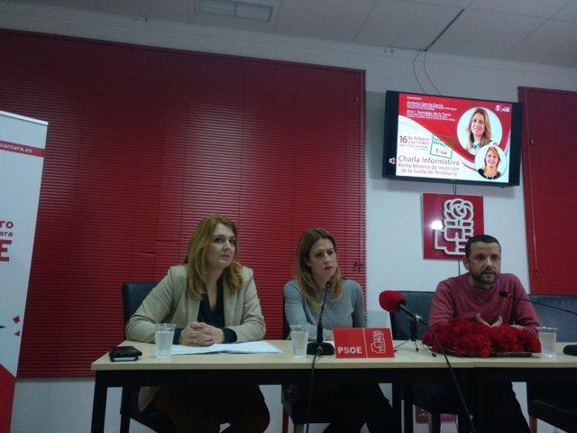 PSOE charla San Pedro