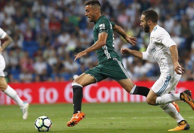 Camarasa (Betis)  y Carvajal (Real Madrid)