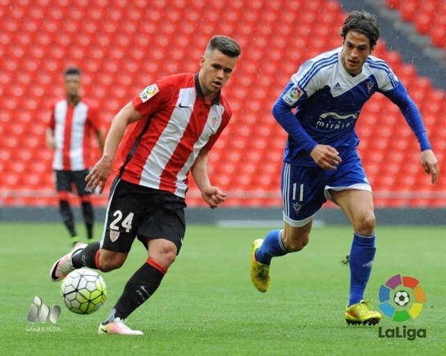 Ager Aketxe, jugador del Athletic Club
