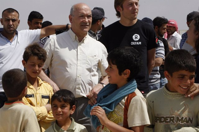 El director ejecutivo de Oxfam Reino Unido, Mark Goldring
