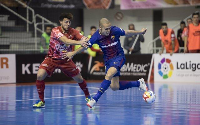 ElPozo Murcia vence al FC Barcelona Lassa en la LNFS