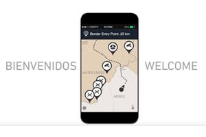 'Bienvenidos', la app que te ayuda a cruzar ilegalmente la frontera México-Estados Unidos