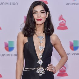 Attends the 16th Latin GRAMMY Awards at the MGM Grand Garden Arena on November 1