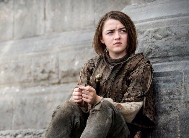 Maisie Williams es Arya Stark en Juego de tronos