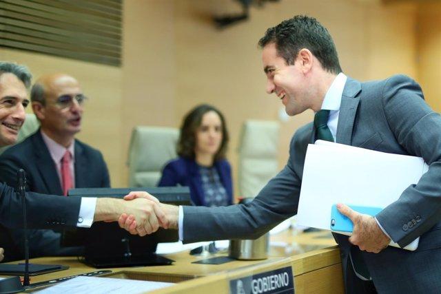 El portavoz adjunto en el Congreso de los Diputados, Teodoro García