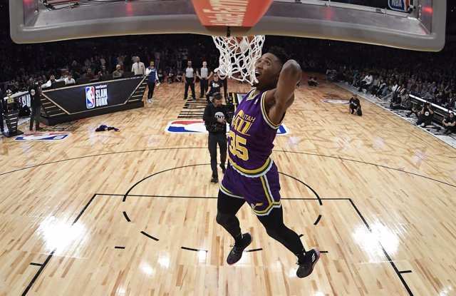 Utah Jazz Donovan Mitchell concurso mates All Star