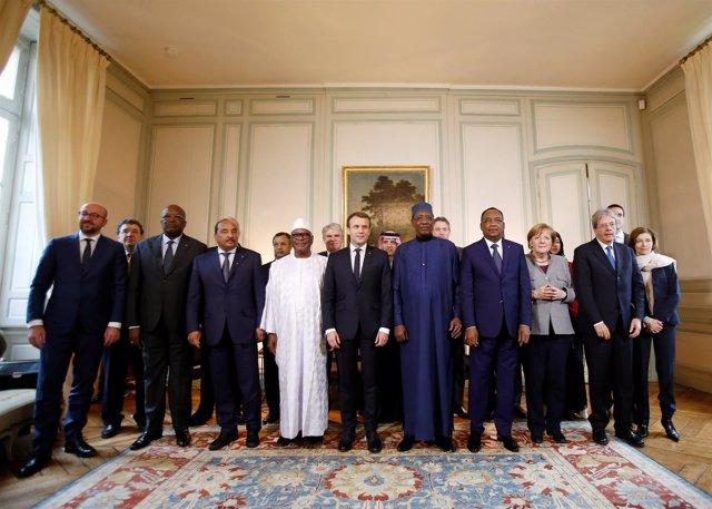 Reunión del grupo de apoyo a los países del G5 Sahel