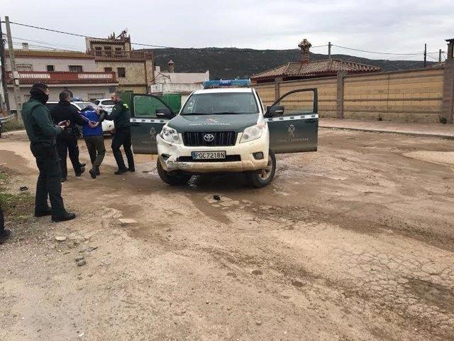 Detención de un presunto narcotraficante en la Línea de la Concepción (Cádiz)