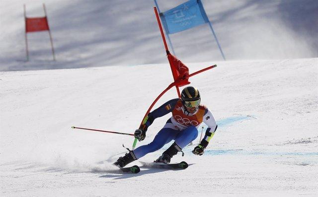Juan del Campo eslalon gigante Juegos Olímpicos Invierno Pyeongchang