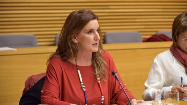 La dirigente socialista Mercedes Caballero
