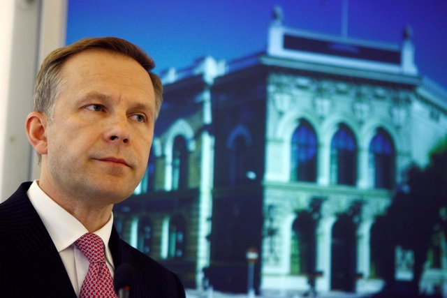 Gobernador del Banco Central de Letonia, Ilmars Rimsevics
