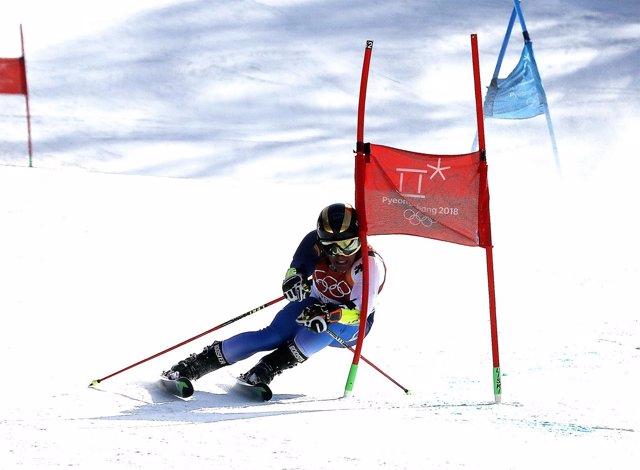 Juan del Campo eslalon gigante Juegos Olímpicos de Invierno de PyeongChang