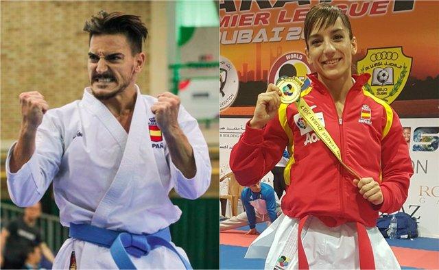 Sandra Sánchez y Damián Quintero karate katas