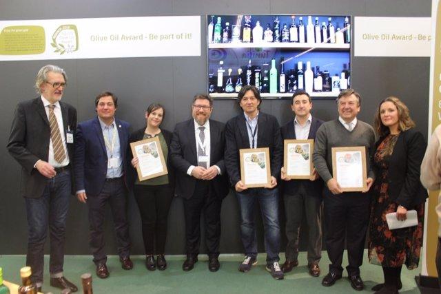 Aceites de oliva ecológicos andaluces premiados en la feria Biofach 2018