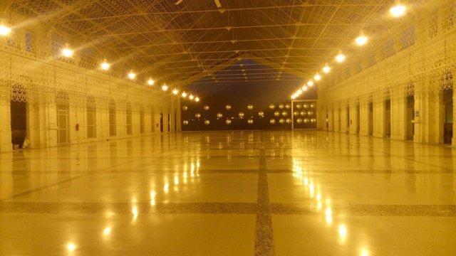 Interior de las instalaciones de Casa Mediterráneo