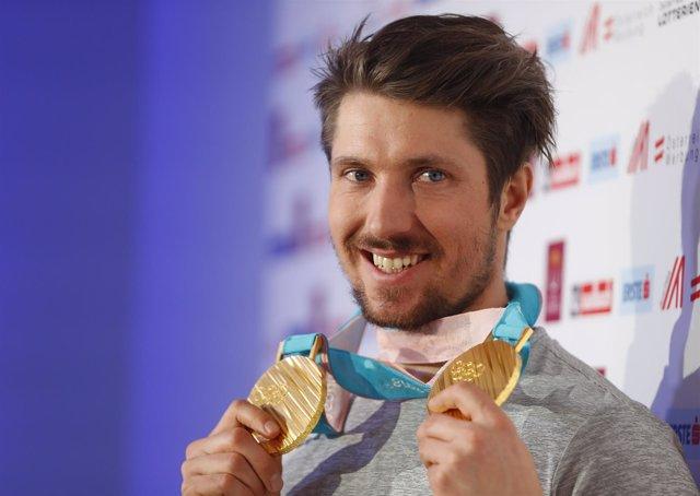 Marcel Hirscher eslalon gigante oro Pyeongchang Juegos Invierno