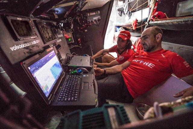 MAPFRE Xabi Fernández Blair Tuke Volvo Ocean Race