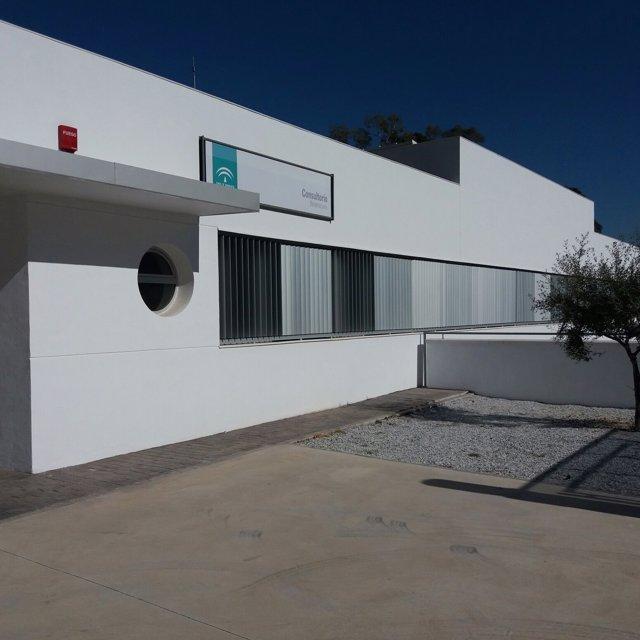 Consultorio de Benamocarra centro de salud vélez axarquía sanidad instalación