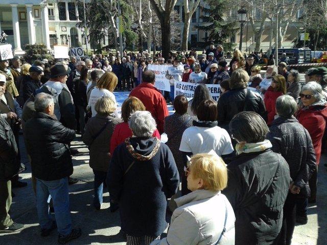 Manifestación de la Marea Blanca.