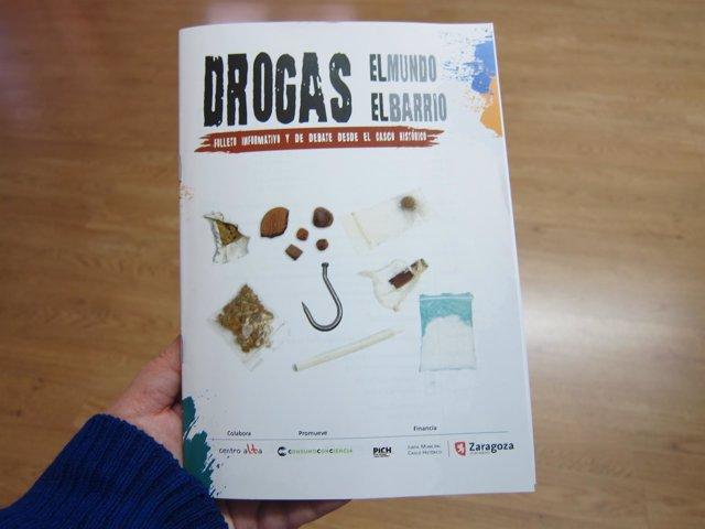 El folleto sobre los riesgos del consumo de drogas ha generado polémica