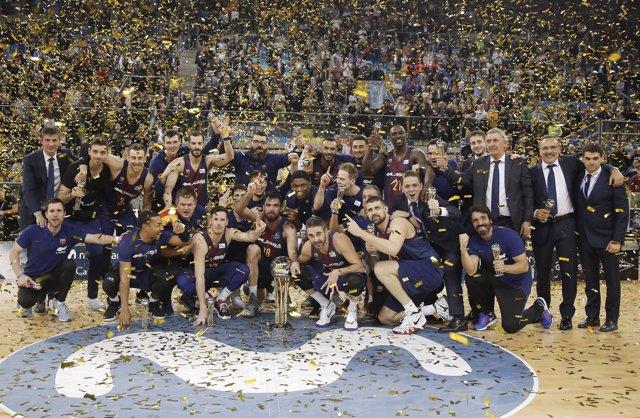 El Barcelona gana la Copa del Rey en Gran Canaria
