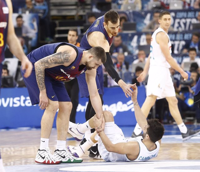 El base del Real Madrid Facundo Campazzo