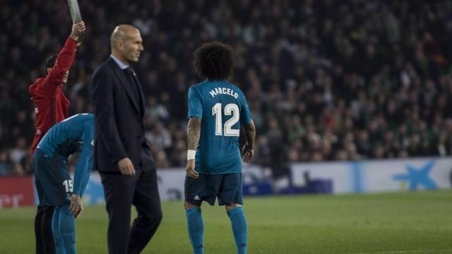 Zidane en el Real Madrid - Betis