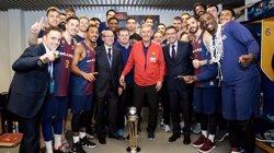 Rajoy felicita el Futbol Club Barcelona,