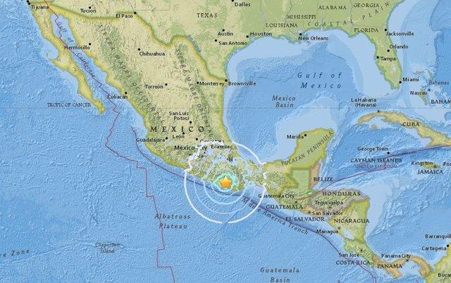 Terremoto de magnitud 6,1 en el sur de México el 19 de febrero de 2018