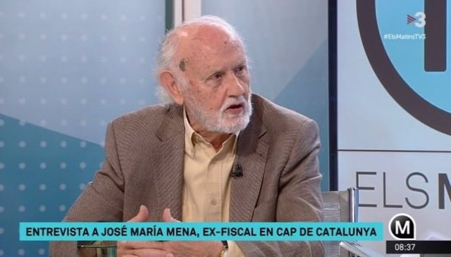 El exfiscal jefe de Catalunya José María Mena