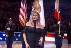 VÍDEO: Fergie la lía con su polémica interpretación del himno de Estados Unidos (NBA)