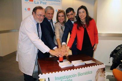 Correos homenajea la investigación biomédica española en una nueva colección filatélica