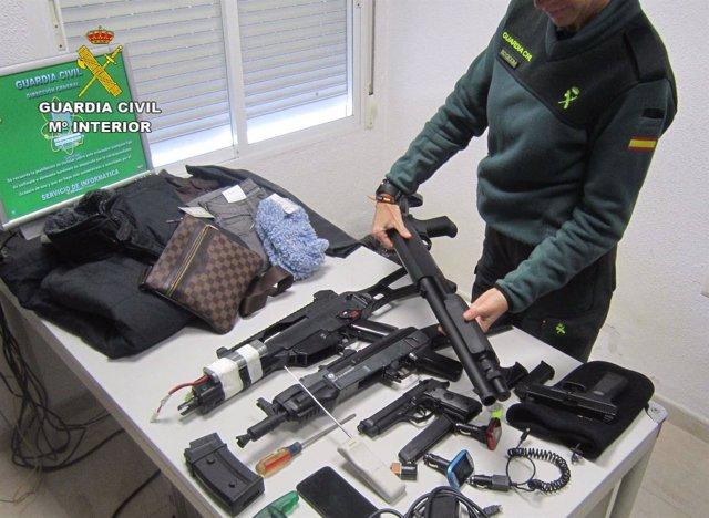 """Remitiendo Np Opc Huelva """"La Guardia Civil Ha Detenido A Cuatro Personas Que Rob"""