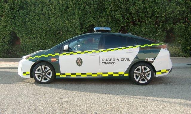 Toyota Prius Guardia Civil Tráfico