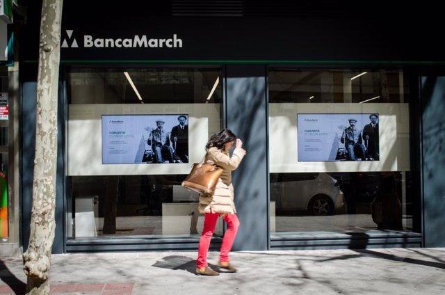 Sucursal, banco Banca March