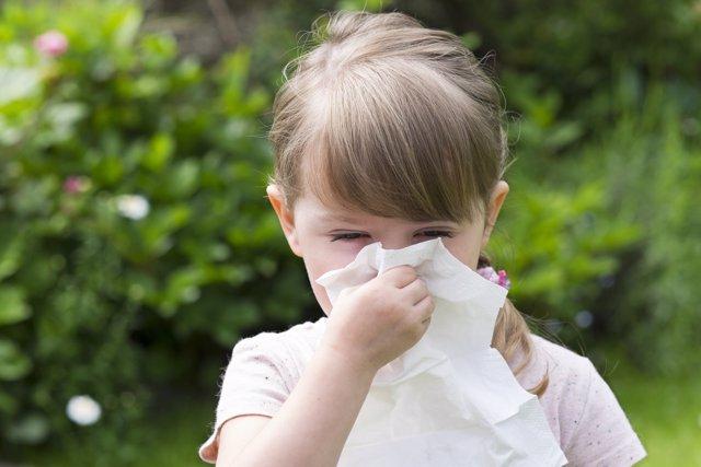 Rinitis alérgica en niños