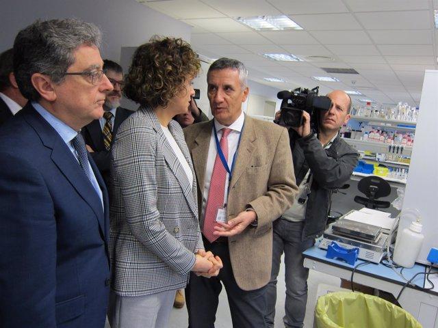 E.Millo, D.Montserrat Y M.Puig En El IGTP