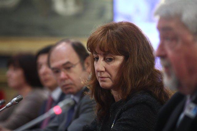 Pío García-Escudero y Paloma Martínez en el Senado por el Día del Asperger