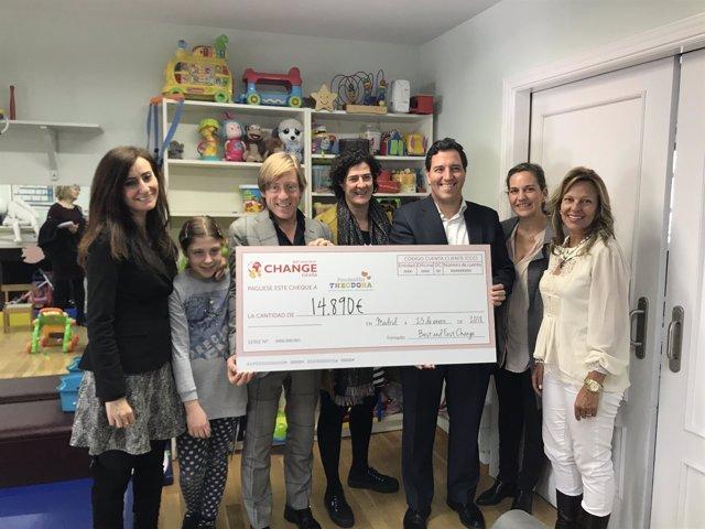 Best and Fast Change España renueva su colaboración con la Fundación Theodora a