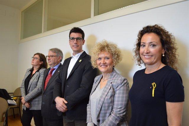 Concejales del PDeCAT en Lleida
