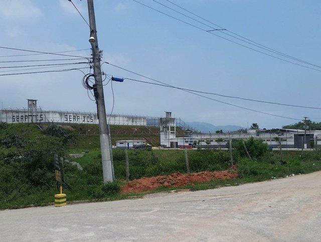 Plano general de la prisión Milton dias Moreira